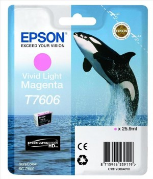 EPSON Cartridge Light Magenta C13T76064010