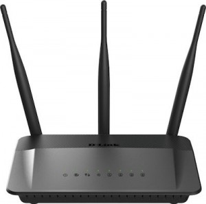 DLINK Wireless AC750 Dual Band 10/100 Router with external antenna