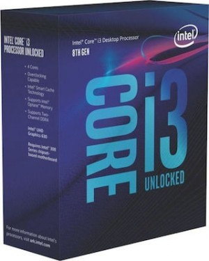 INTEL CPU Core i3-8350K, BX80684I38350K