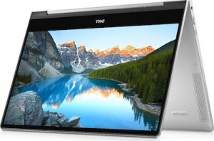"""Notebook Dell Inspiron 2-in-1 7391, 13.3"""" FHD Touch, i7-10510U, 8GB, 512GB SSD, UMA, Win.10, 2 Years, Silver"""