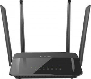 Wireless AC1200 Dual Band Gigabit Router with external antenna