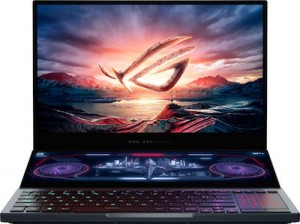 """ASUS ROG Zephyrus Duo 15 GX550LWS-HF066T - Laptop - Intel Core i7-10875H 2.3 GHz - 15.6"""" FHD - Windows 10 Home"""