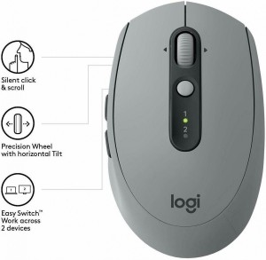 LOGITECH Mouse Wireless M590 Mid Grey