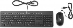 HP Slim USB Keyboard and Mouse ΕΝ (T6T83AA)