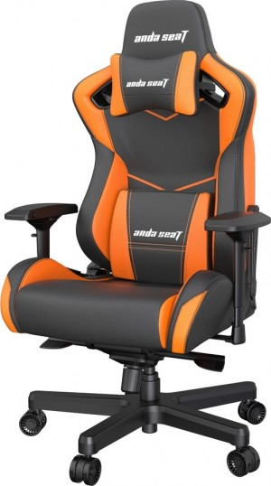 Anda Seat AD12XL Kaiser II Black/Orange (AD12XL-07-BO-PV-O01)
