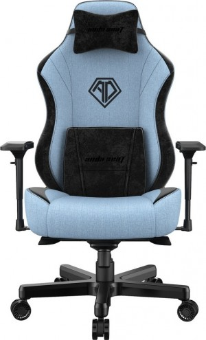 Anda Seat Chair Ad18 T Pro Light Blue/Black (AD18-02-SB-F)