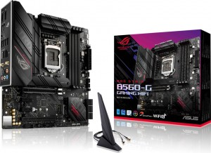 Asus ROG STRIX B560-G Gaming WiFi Motherboard Micro ATX με Intel 1200 Socket (90MB1750-M0EAY0)