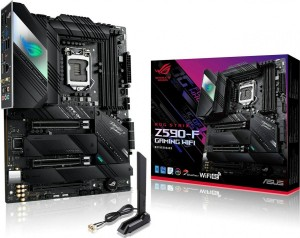 ASUS MOTHERBOARD ROG STRIX Z590-F GAMING WIFI, 1200, DDR4, ATX (90MB1630-M0EAY0)