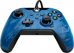 PDP Wired Controller - XΒΟΧ Series S X & PC - Mπλέ Camo (049-012-EU-CMBL)