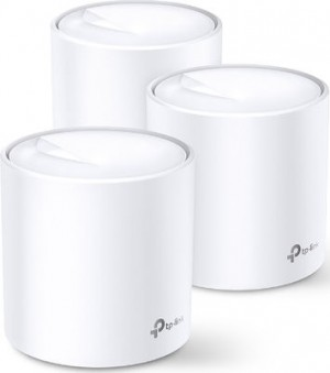 TP-Link AX3000 Deco X60 v1 - Whole Home Mesh Wi-Fi System (3-pack)