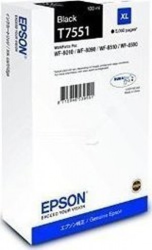 Epson Cartridge Black XL C13T755140