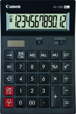 CALC CANON AS-1200 12-digit Semi-desktop (4599B001AB)