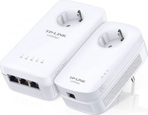 TP-LINK TL-WPA8630PKIT v2 Passthrough Powerline TL-WPA8630P KIT, AV1300 WiFi Starter Kit (2 pcs)