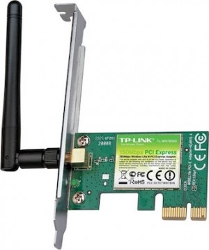 TP-LINK Wireless N PCIe Adapter TL-WN781ND-v3,150Mbps