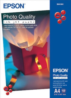 EPSON Paper Photo Quality Ink Jet matte surface finishing C13S041061